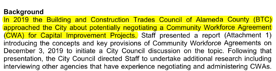 Unions Try Yet Again to Get the Dublin City Council to Give Them a Construction Contract Monopoly