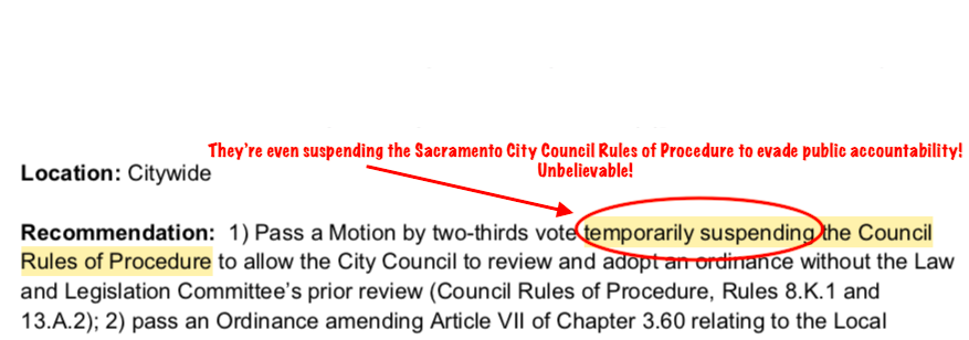 "Sacramento City Council Warned: ""A Project Labor Agreement Vote Today Risks a Lawsuit Tomorrow. Here is Why."""